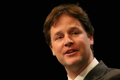 Nick Clegg: wants better links with Tory ministers