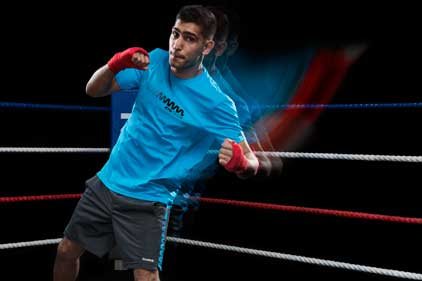 Amir Khan: aims to raise his profile