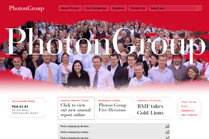 UK PR growth: Photon Group