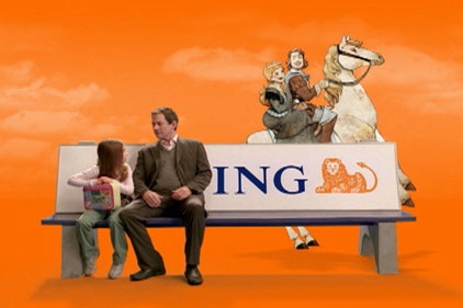 ING Direct: retains Band & Brown