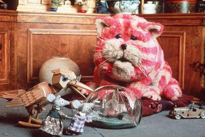Part of Oliver Postgate and Peter Firmin trio: Bagpuss