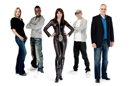 The Gadget Show: presenters appear at the exhibition