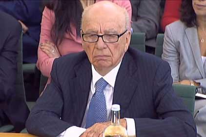 Rupert Murdoch: denies responsiblity