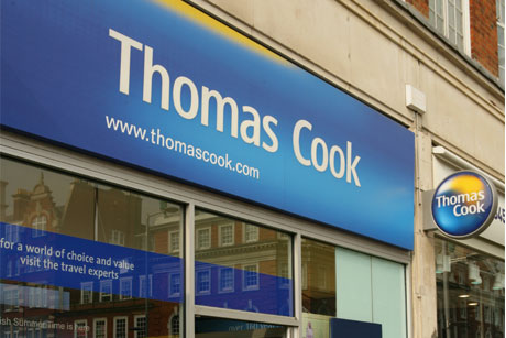 Period of change: Travel firm Thomas Cook
