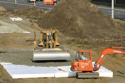 Low & Bonar: Products include bedding for new rail lines