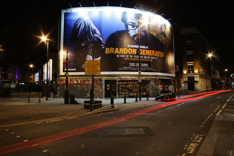 Brandon Generator: A disused warehouse in east London premiered the final episode
