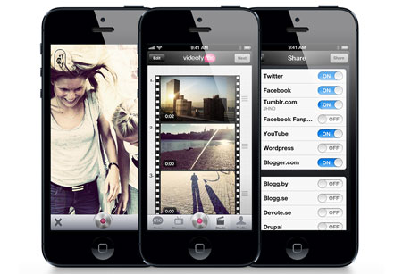 VideofyMe: Video editing and distribution app