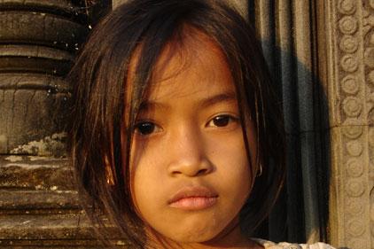 Cambodian child: UK launch