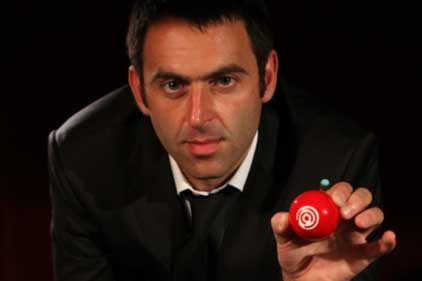 Backing Power Snooker: Ronnie O'Sullivan