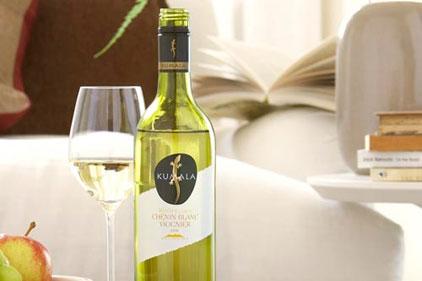 Top tipple: Kumala wine