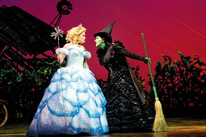 Smash hit: Wicked