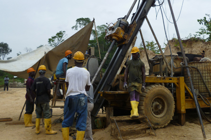 Big deposit: The Aureus gold mine in Liberia