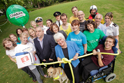 Legacies: Remember a Charity launched 'Forget Me Knot Week' in 2009 to raise awareness