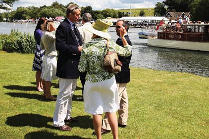 Class act: Pimm's at Henley Royal Regatta