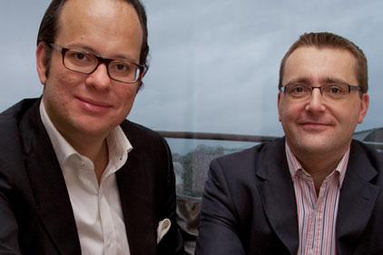 Setting up shop: Michael Hayman and Nick Giles