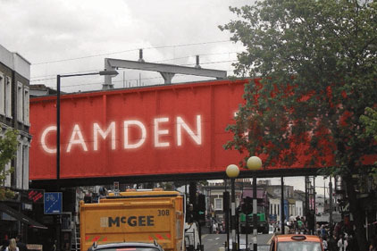 Camden Town: Twitter campaign