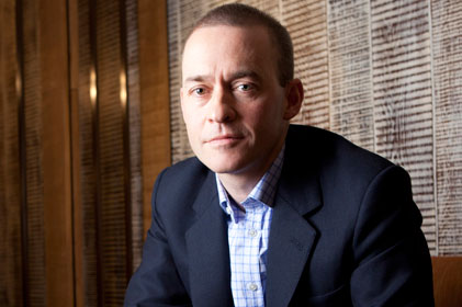 The real McCoy: Starbucks UK PR chief Tim McCoy [Pic Belinda Lawley]