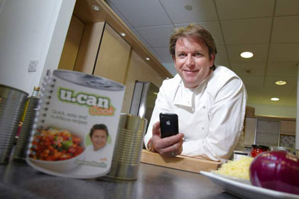 James Martin: cooking with canned food