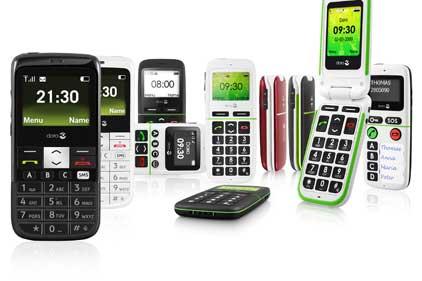 Senior market: Doro mobile phones