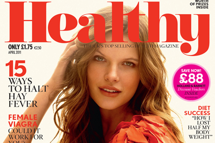 Healthy: Magazine's editorial agenda is to give advice but not plug products