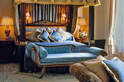 Luxury: Starwood owns brands including The Lanesborough