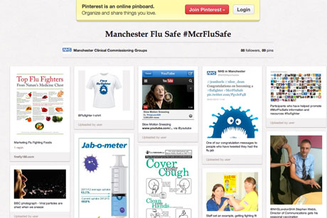 Outreach: Manchester NHS uses Pinterest to engage with patients