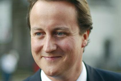 Campaign boost: David Cameron