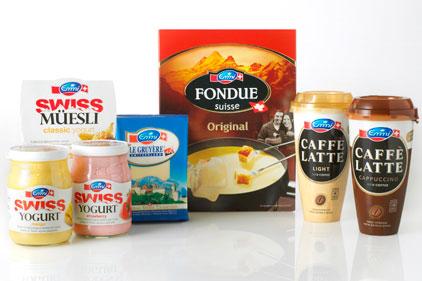 Swiss dairy: Emmi range