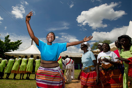 Out of Africa: Comic Relief will work with Forster Communications (Credit: Brian Sokol/Comic Relief)