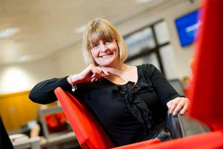 Team leader: Emma Sinden is to head the tech health division