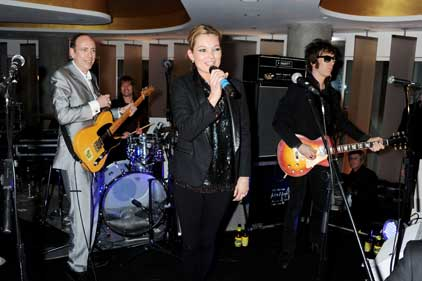 House band: Kate Moss introduces the supergroup