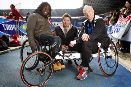 That Paralympic Show: hosts Ade Adepitan, Rick Edwards and Iwan Thomas