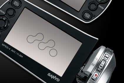 Xacti Dual Camera range: SANYO