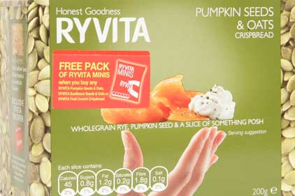 Brief handed to Wild Card: Ryvita