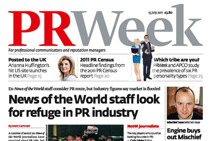 PRWeek reader survey