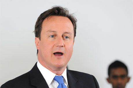 David Cameron: apparent U-turn on support for minimum unit pricing