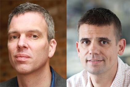 Health chiefs: Pat Pearson and Sebastien Desprez