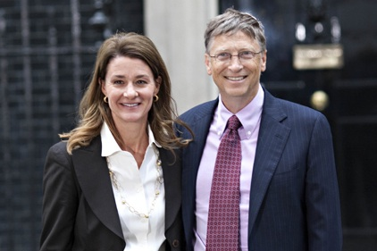 Bill and Melinda Gates: appointed Hillman to promote overseas aid