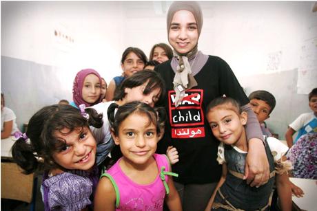 War Child children's charity: 20th anniversary push