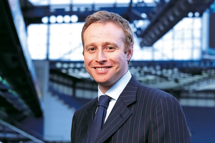 Corporate affairs director at News International: Simon Greenberg