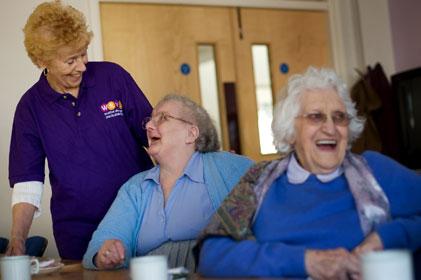 Over 45,000 female volunteers: WRVS
