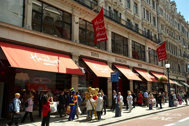 Hamleys: preparing to launch assault on the Christmas market