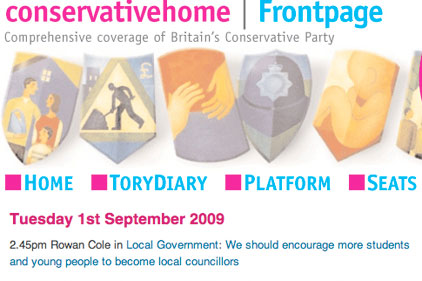 Influential: ConservativeHome