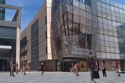 Concept for new Stratford store: John Lewis