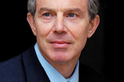 Facing criticism: Tony Blair