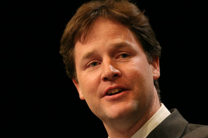 Nick Clegg: new comms head