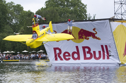 Promotion in motion: Red bull's activities are all captured on video