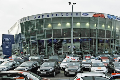 Ford Retail: Edgeware dealership