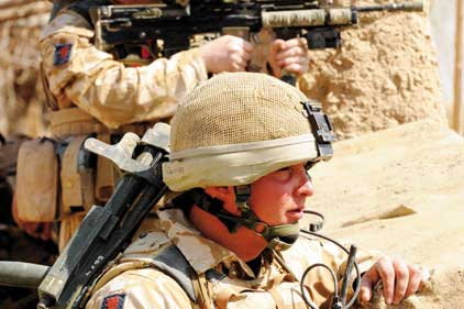 Priority: MoD wants resources to go to the front line