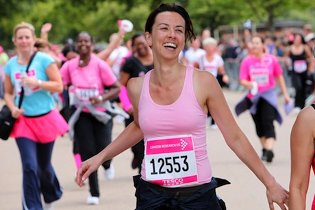 Cancer Research UK's Race4Life event